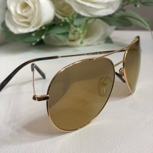 Rare 18k gold plated Police sunglasses!